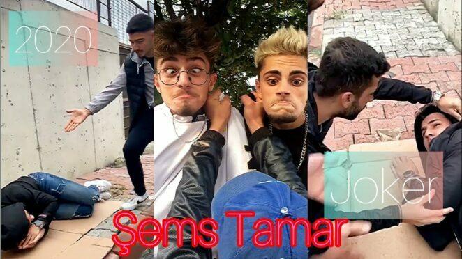 Şems Tamar & Joker Bey Tiktok En Yeni Tiktok Videoları   2020