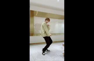 Shotaro NCT & Yunho TVXQ dance Thank U Challenge TikTok