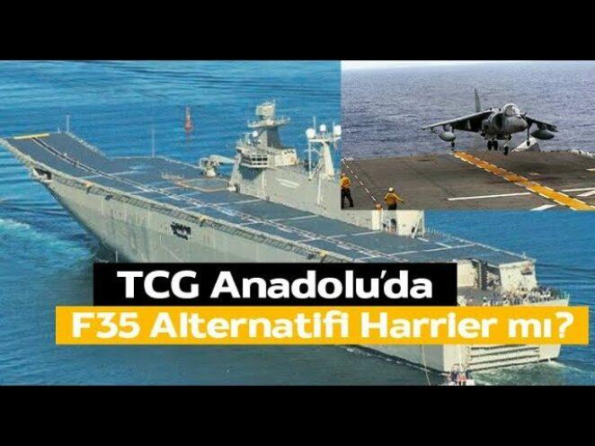 TCG ANADOLU'DA F35'İN ALTERNATİFİ HARRIER MI? – SAVUNMA SANAYİ HABERLERİ