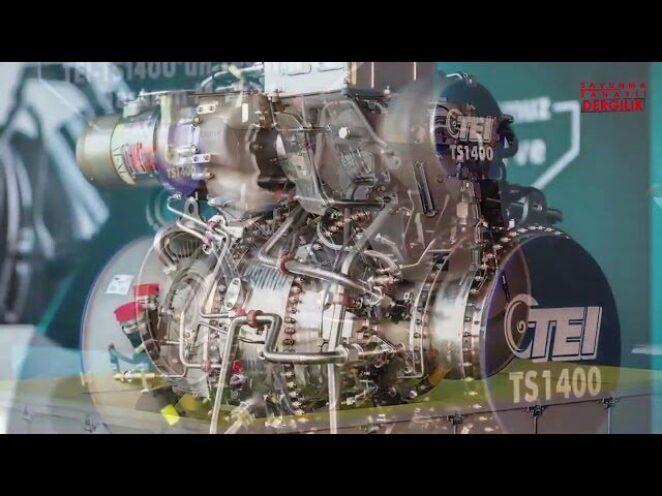 TEI Genel Müdürü Mahmut Akşit, TS-1400'ün rakip ithal motordan üstün ve aşağı yönlerini anlattı