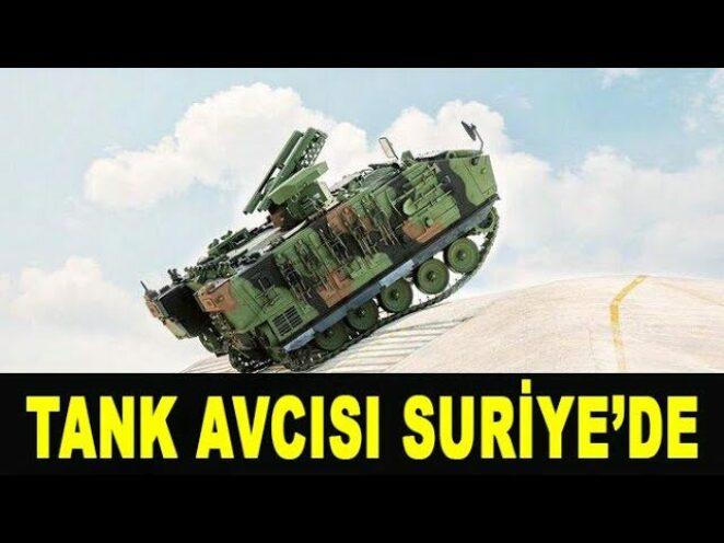 Tank avcısı Kaplan Suriye sınavında – Tank hunter Kaplan in Syria – FNSS – Türk Savunma Sanayi