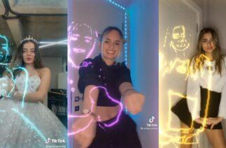 TikTok Yeni Neon Dans Akımı Videoları (Cemre Solmaz & Semiraminta) Efsane Akım