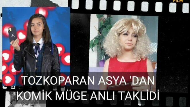Tozkoparan İskender Asya 'dan Komik Müge Anlı taklidi. Tuana Naz Tiryaki komik video.