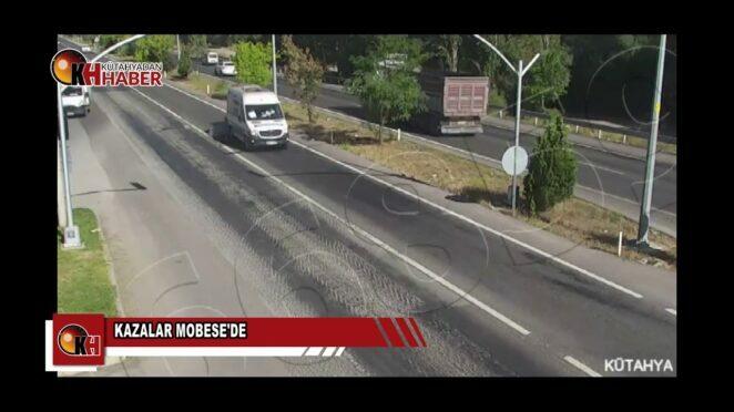 Trafik kazaları MOBESE'lere yansıdı