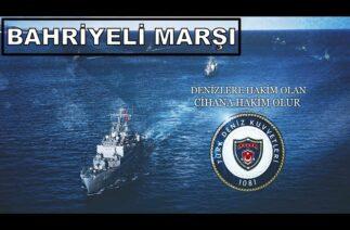 Türk Deniz Kuvvetleri Bahriyeli Marşı | Öncü Güçlü Gururlu