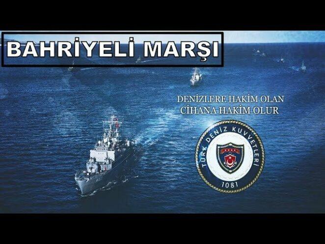 Türk Deniz Kuvvetleri Bahriyeli Marşı   Öncü Güçlü Gururlu