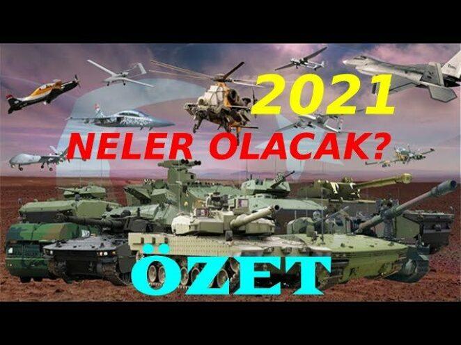 Türk Savunma Sanayii 2021 Hedefleri | Kısa Özet