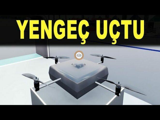 Türk mühendisler Yengeç İHA'yı uçurdu – Multi-rotor rotary wing UAV Crab Agena – Savunma Sanayi