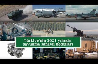 Türkiye'nin 2021 yılında savunma sanayii hedefleri