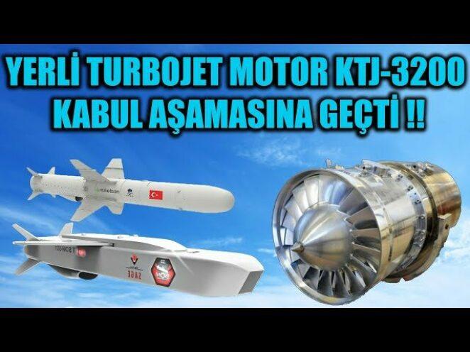 YERLİ TURBOJET MOTOR KTJ-3200 KABUL AŞAMASINA GEÇTİ !!