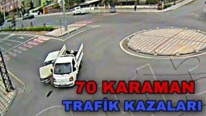 70 KARAMAN – TRAFİK KAZALARI