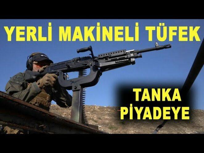 ALEV ALDI 🔥 Yerli makineli tüfek PMT 7,62 – Machine gun PMT 7,62 fired – Sarsılmaz – Savunma Sanayi