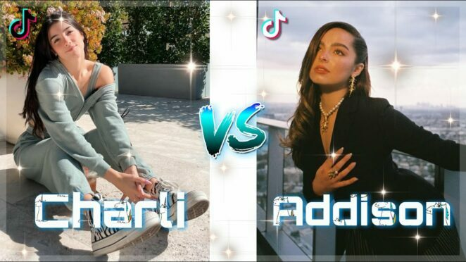 Addison Rae vs Charli D'amelio TikTok Dance Compilation 💃