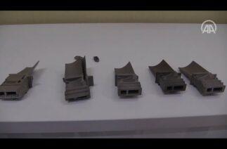 Afyonkarahisar'daki fabrika eklemeli imalat teknolojisi ile titanyum parça üretimi yapılıyor