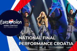 Albina – Tick-Tock – Croatia 🇭🇷 – National Final Performance – Eurovision 2021