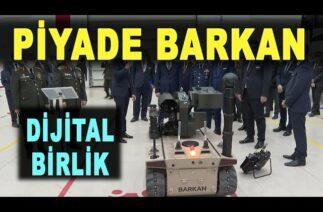 BARKAN Türk dijital birliğinin piyadesi – BARKAN unmanned ground vehicle – Savunma Sanayi – HAVELSAN