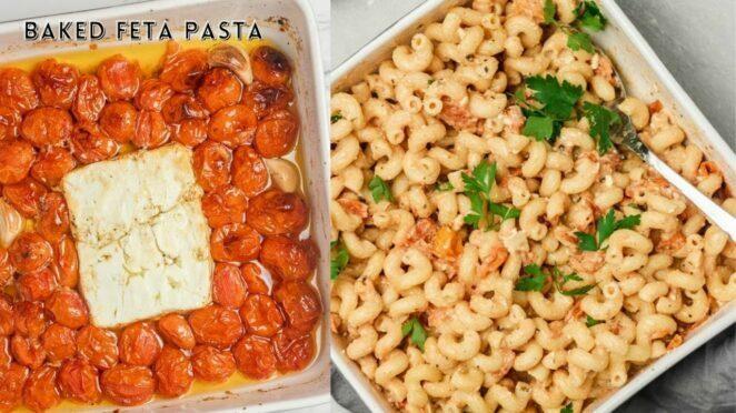 Baked Feta Pasta (Tik Tok Viral Recipe)