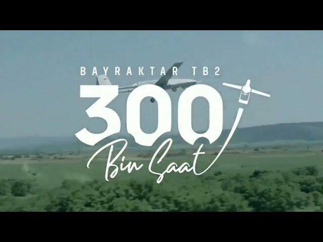 Bayraktar TB2, 300 bin uçuş saatini tamamladı