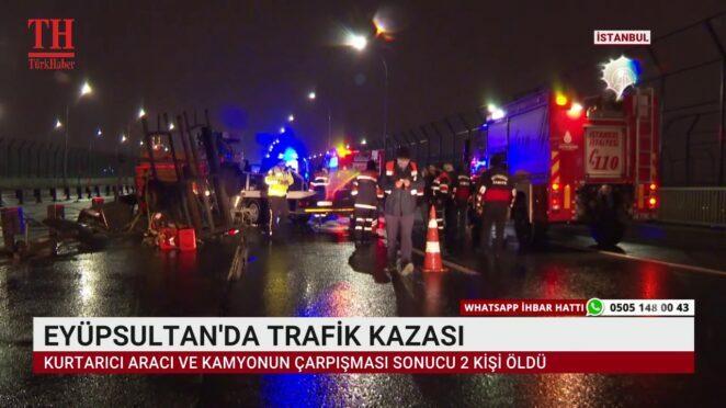 EYÜPSULTAN'DA TRAFİK KAZASI