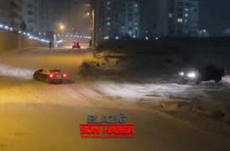 Elazığ'da Zincirleme Kazalar, Kameralara Yansıdı