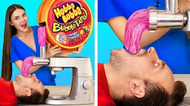 Funny Food Battles / Crazy Food Hacks / Food Challenge Ideas / DIY Giant Yummies