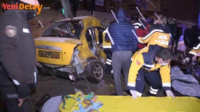 Kırıkkale'de trafik kazası 1 ölü, 2 yaralı