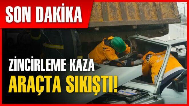 Kocaeli'de Zincirleme Trafik Kazası   Son Dakika Haber