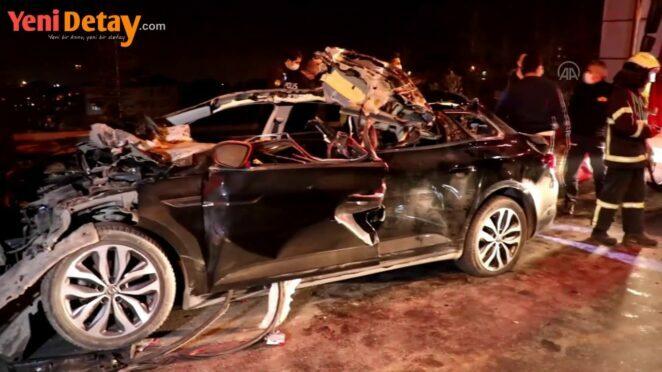 Kocaeli'de trafik kazası: 1 ölü, 1 yaralı