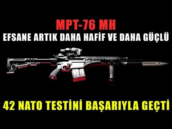 MPT-76 MH EFSANE ARTIK DAHA HAFİF VE DAHA GÜÇLÜ | Savunma sanayi 2021 ürünleri