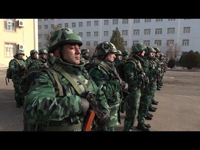 Nahçıvan Garnizon Birlikleri'nde yeni akademik yıl başladı