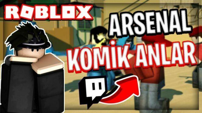 ROBLOX ARSENAL KOMİK ANLAR !! (SESLİ VİDEO) | Arsenal En İyi Anlar Montaj | Roblox Türkçe