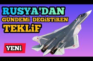 RUSLARDAN YENİ SU-57 TEKLİFİ Türk Savunma Sanayi