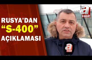 Rusya'dan Türkiye'ye gönderilen S-400'ler Hakkında Açıklama / A Haber