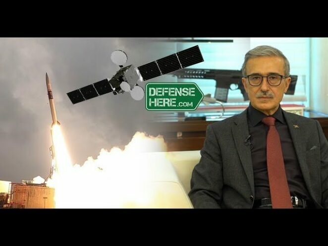SSB Başkanı İsmail Demir, SSB'nin uzay çalışmalarını Defensehere'a anlattı