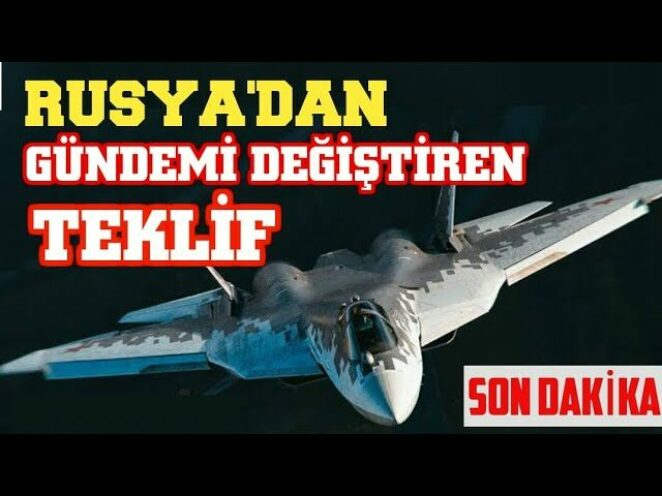 SU-57 UÇAĞIMI ALIYORUZ Türk Savunma Sanayi