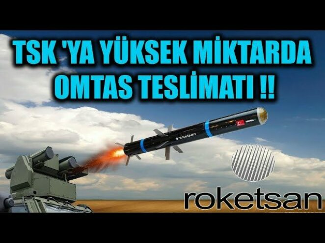 TSK 'YA YÜKSEK MİKTARDA OMTAS TESLİMATI !!