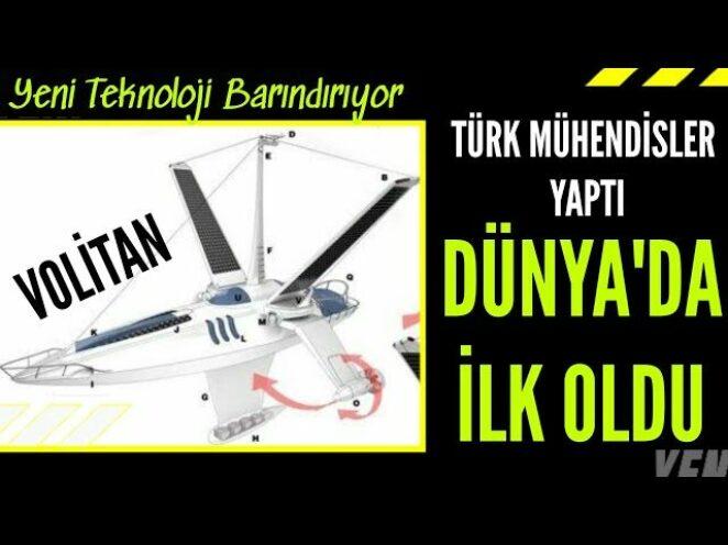 """TÜRK MÜHENDİSLER YAPTI """"VOLİTAN"""" DÜNYADA İLK OLDU"""