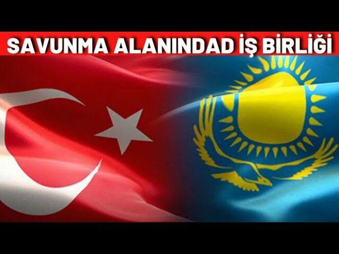 TÜRKİYE-KAZAKİSTAN SAVUNMA SANAYİİ ALANINDA İŞ BİRLİĞİ..!!!