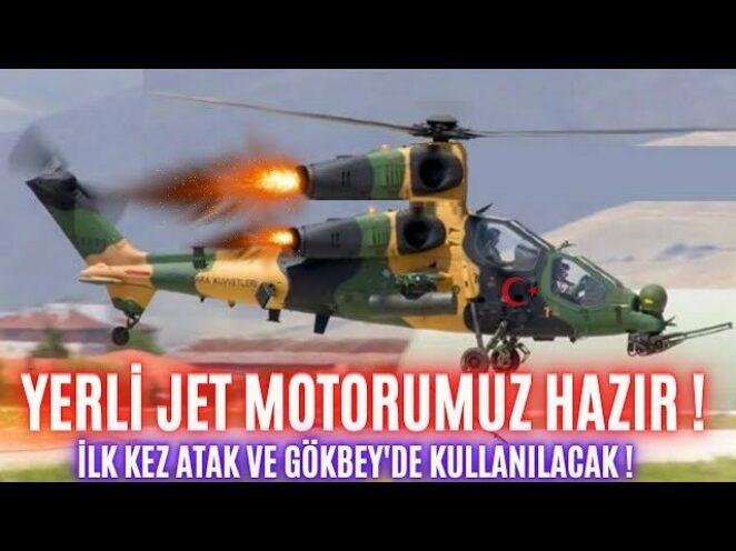 TÜRKİYE'NİN İLK JET MOTORU TAMAMLANDI.! YERLİ HELİKOPTERLERE JET HIZI !!!