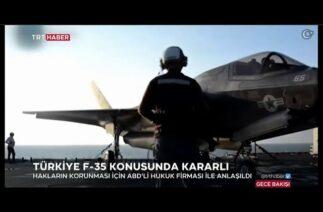 TÜRKİYE'den F-35 hamlesi: Uluslararası hukuk şirketiyle ABD'ye dava…