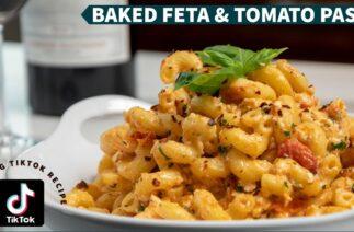 Trending Tiktok Recipe: Baked Feta & Tomato Pasta, Simple, Easy, and Delicious!