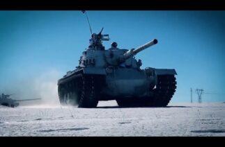 Türkiye-Azerbaycan ortak tatbikatında tankçılar ve topçular hedefleri başarıyla vurdu