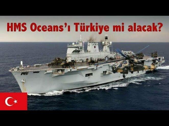 Türkiye yerli ve milli uçak gemisi için harekete geçti.