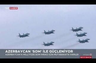 """Türkiye'den Azerbaycan'a """"SOM"""" ihracatı"""