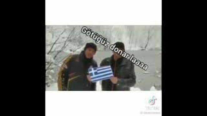 türklerden Yunanlara mesaj komik 😂😂