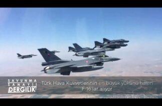 33 yıl önce (11.03.88) tüm montajı Türkiye'de yapılan ilk F-16, Türk Hava Kuvvetlerine teslim edildi