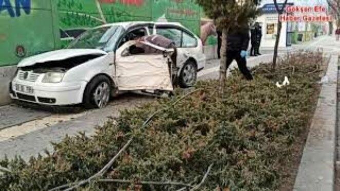Ankara Sincan'da trafik kazası 1 kişi ağır yaralandı