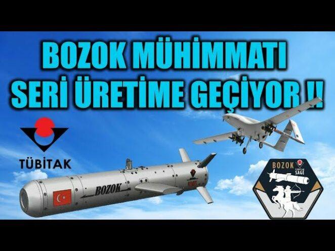 BOZOK MÜHİMMATI SERİ ÜRETİME GEÇİYOR !!