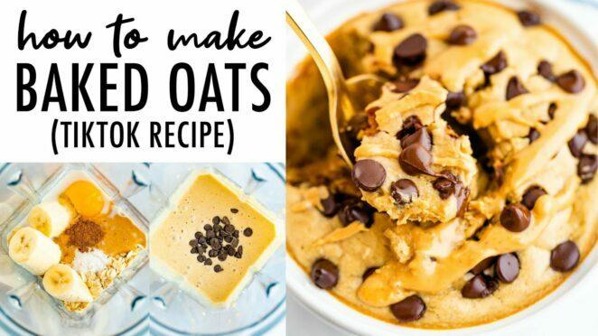 Baked Oats Viral TikTok Recipe