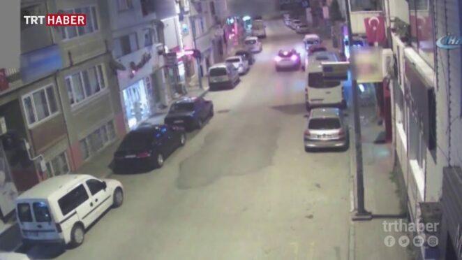 Bursa MOBESE kameralarına yansıyan tafik kazaları
